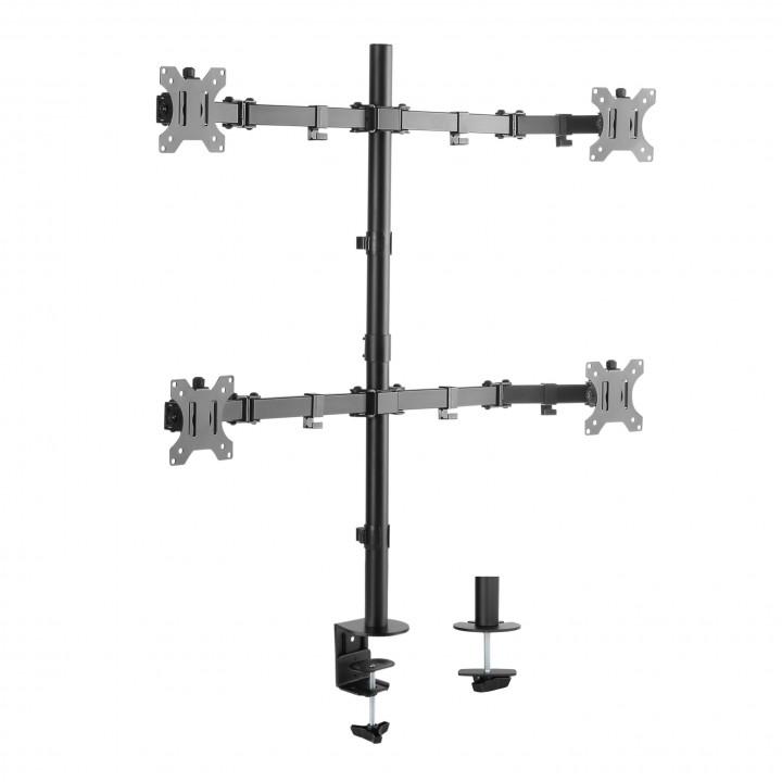 Кронштейн для 4-х мониторов Double Twin