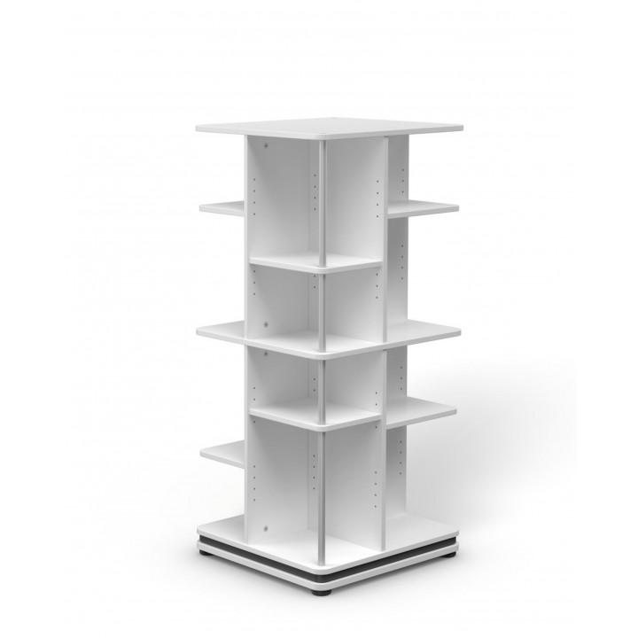 Стеллаж Tower 56 вращающийся, базовый уровень + надстройка